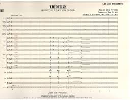 Tricotism Chart Tricotism By Composer Performer Fedchock John Jazz