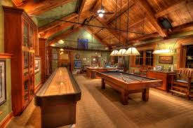 Wooden Games Room 100 Epic Man Caves Homes and Hues 8