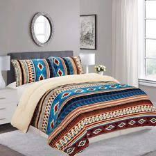 southwest style comforters. Brilliant Style SouthWestern Aztec Western Blanket Borrego Fleece Comforter Style  3 Piece  Set In Southwest Comforters U