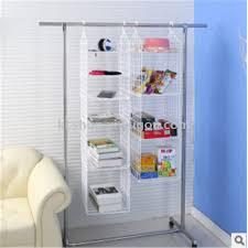 plastic folding racks portable clothing collation racks kitchen multilayer shelves