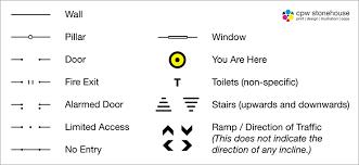 floor plan symbols. Floor Plan Symbols
