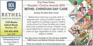 Free Day Care Daycare Ad Bethel Christian Academy