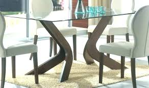 dining table bases for glass tops dining table wood bases for glass tops dining room table