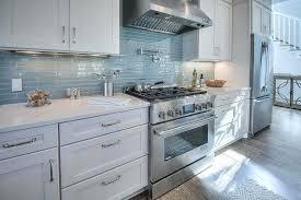 white cottage kitchens. Cottage Kitchen Backsplash Ideas Fascinating Beach House White Turquoise Blue Glass Tiles Kitchens