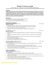 Example Of Pharmacy Technician Resume Awesome Examples Of Pharmacy Technician Resumes Business Document 2