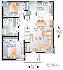 House Plan W3129V1 Detail From DrummondHousePlanscomModern Open Floor House Plans