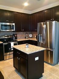 Delighful Dark Kitchen Cabinets Colors Smallkitchendecor 15 On Design Decorating