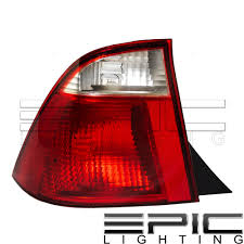 2005 Ford Focus Brake Light Details About Left Driver Side Lh Rear Brake Tail Lamp For 2005 2007 Ford Focus Sedan