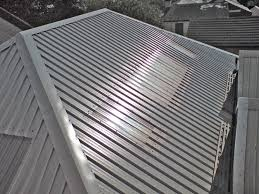 corrugated metal roofing house