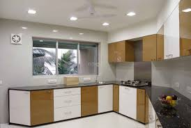 modular kitchen colors:  captivating modular kitchen cabinets with curved shape kitchen and white brown colors kitchen cabinets
