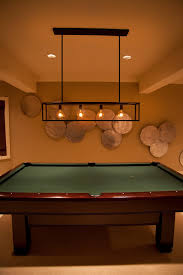 billiards lighting fixture designs