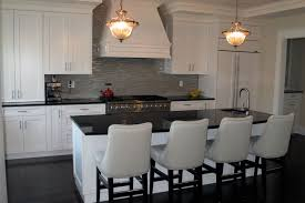 transitional kitchen ideas. Transitional Kitchen Ideas With Dining Table And DIY Hanging Lamps A