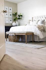 Our New Modern Oak Floors from /genuinepergo/ floors are a dream! They have  completely transformed our modern farmhouse bedroom space and I am in LOVE!