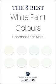 the best white paint colours benjamin moore undertones and lrv kylie m e