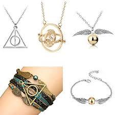 Amazon.com: OPENDGO <b>5 PCS</b> Harry Potter Necklace Set Time ...