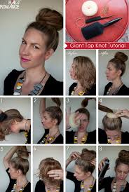 How To Make A Hair Style how to style a giant top knot when you dont have a lot of hair 2067 by wearticles.com