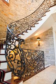 beautiful custom interior stairways. Gorgeous Wrought Iron Spiral Stair Railing, Hand-Forged In Our Shop Lancaster, Beautiful Custom Interior Stairways C