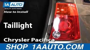 2007 Chrysler Pacifica Brake Light Bulb How To Replace Tail Lights 04 08 Chrysler Pacifica