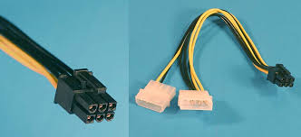 all about the various pc power supply cables and connectors 6 pin pci express power cable