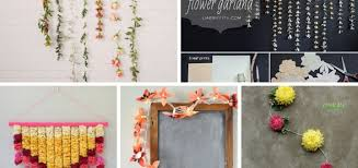 40 DIY Flower Garland Ideas To Decorate Your House Unique Flowers Decoration For Home Ideas