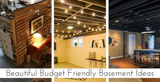 Finished Basement Ideas On A Budget Cool Inspiration Design