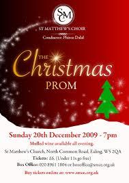 Christmas Concert Poster Ealing Common Choir Poster Wall Christmas