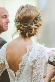 Wedding Hairstyles With Flower Crown Boho Chic Pinterest