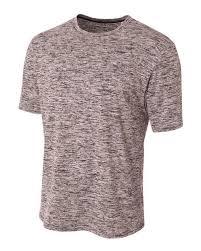 A4 N3296 Adult Space Dye Tech T Shirt
