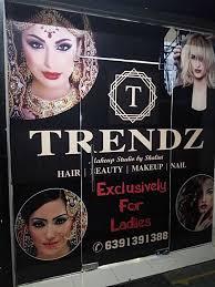 entrance view of salon trendz makeup studio photos aliganj lucknow makeup artists