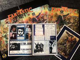 The story centers on a family forced by circumstances to reintegrate into society after living in isolation for a decade. Picked This Up Today At A Vintage Shop Elton John Captain Fantastic The Brown Dirt Cowboy Still Had The Booklets And Poster Vinyl