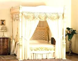 canopy bed with drapes – clubcentreequestre.com