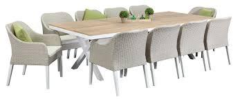 aluminium outdoor dining sets maine 10 seater segals in set plans 9