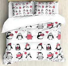 toddler duvet cover foxes owls friends junior bed set including matching