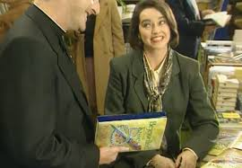 Polly Clarke Book Signing - Father Ted