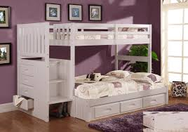 remarkable bedroom teenagers with white wood bunk bed along staircase and white drawers also purple fur bed girls teenage bedroom
