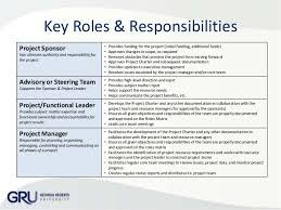 Roles And Responsibilities Template Word Free Download