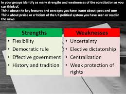 5 Strengths And Weaknesses Strengths And Weaknesses Of The Uk Constitution