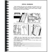 case 1175 tractor operators manual (sn 8712001 8770000) International Tractor Wiring Diagram 1175 Case David Brown Tractor Wiring Diagram #14