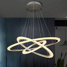 attractive led pendant lights throughout ring led hollow single head lighting creative round