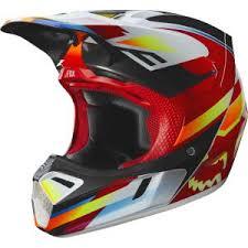 Fox Racing V3 Motif Helmets 2019 Mx South