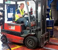 John Singleton Enjoys Highs And Lows Of The Open As Forklift Driver