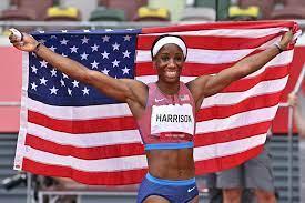 Keni Harrison Wins Silver in 100m ...