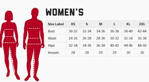 Badger Ladies Size Chart Bender Brandingbender Branding