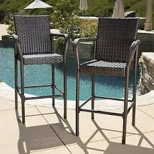 45178BT32 Sands Resin Outdoor Wicker Bar Table  Kozy KingdomOutdoor Wicker Bar Furniture