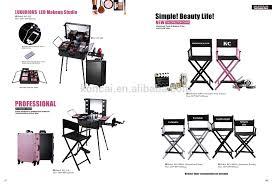 professional aluminum vanity beauty trolley makeup cosmetic artist case