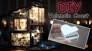 dollhouse lighting. Dollhouse Lighting. Diy Miniature Kit || Valencia Coast ( With Full Furniture And Lighting