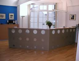 diy reception desk ideas white carved solid wood front newest ikea contemporary office design home