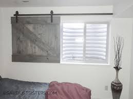barn door window slider this is so cool