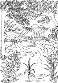 Click on the coloring page to open in a new window and print. Scenery Coloring Pages For Adults 60 Pictures Free Printable