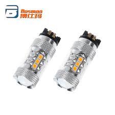 Audi A3 8v Fog Light Bulb Hot Item Bosmaa 2 Pcs Pw24w Pwy24w 16smd 2835 Led Bulbs Turn